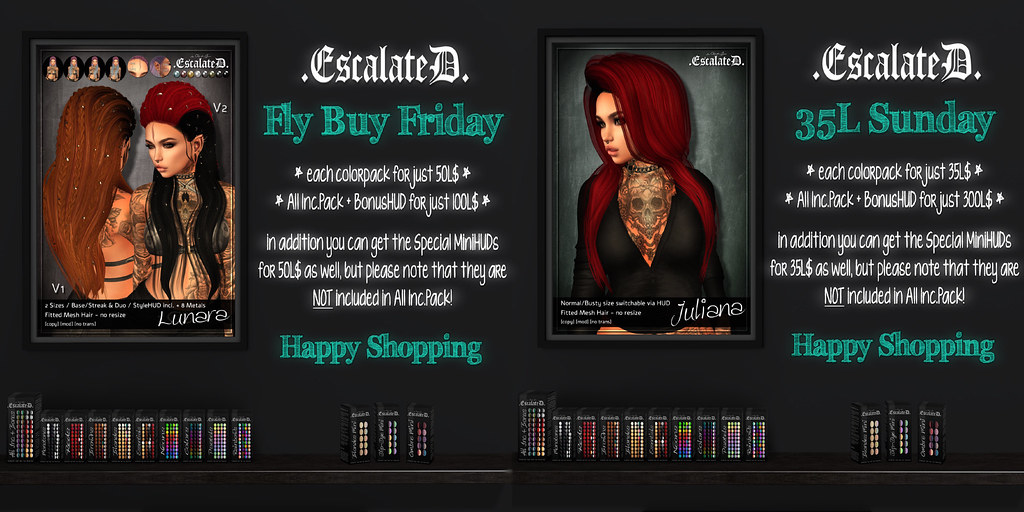 .EscalateD. | Weekend Deals