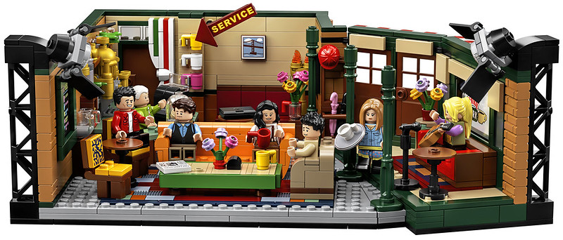21319 LEGO Ideas FRIENDS CENTRAL PERKS