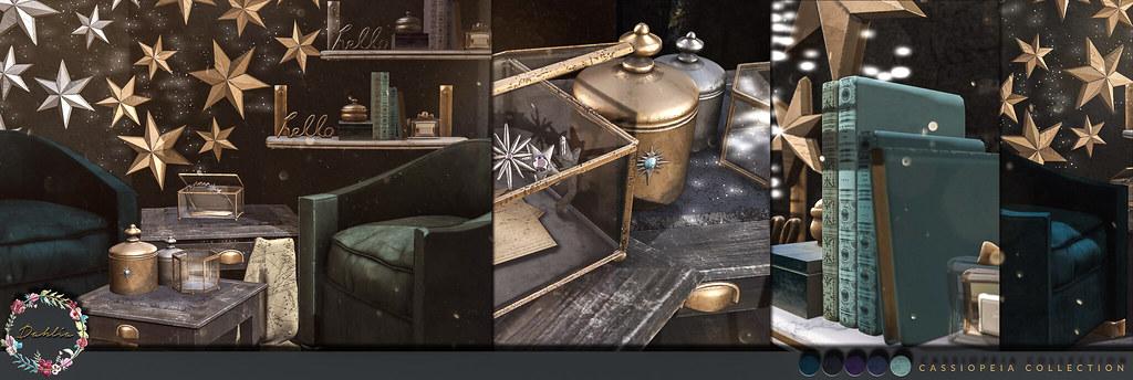 Dahlia - Cassiopeia Collection - TeleportHub.com Live!