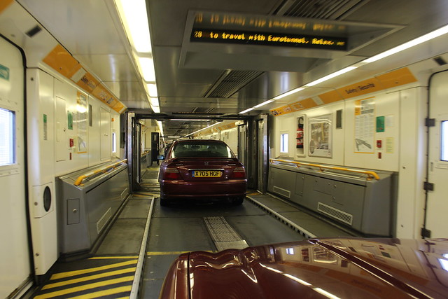 Inside Le Shuttle