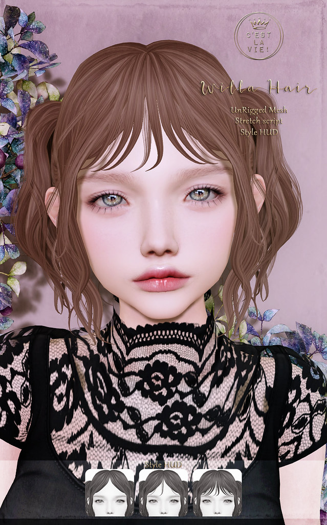 ::C'est la vie !:: Willa Hair for FLF
