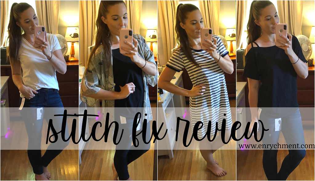 A Stitch Fix Review from a first-time subscriber | www.enrychment.com