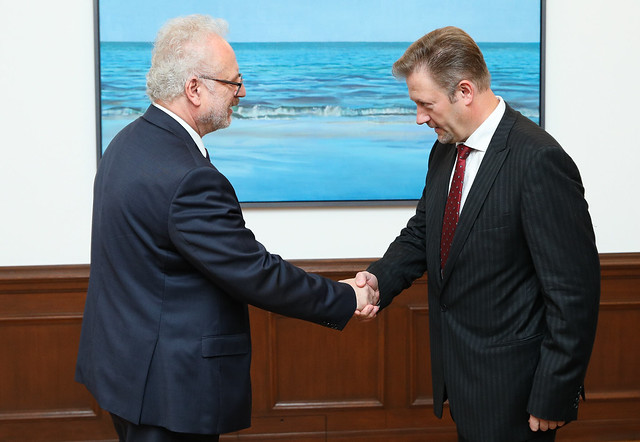 Valsts prezidenta Egila Levita tikšanās ar Latvijas Preses izdevēju asociācijas pārstāvjiem