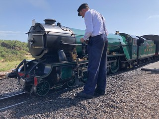No 3 Southern Maid is serviced at Dungeness 7 Aug 2019