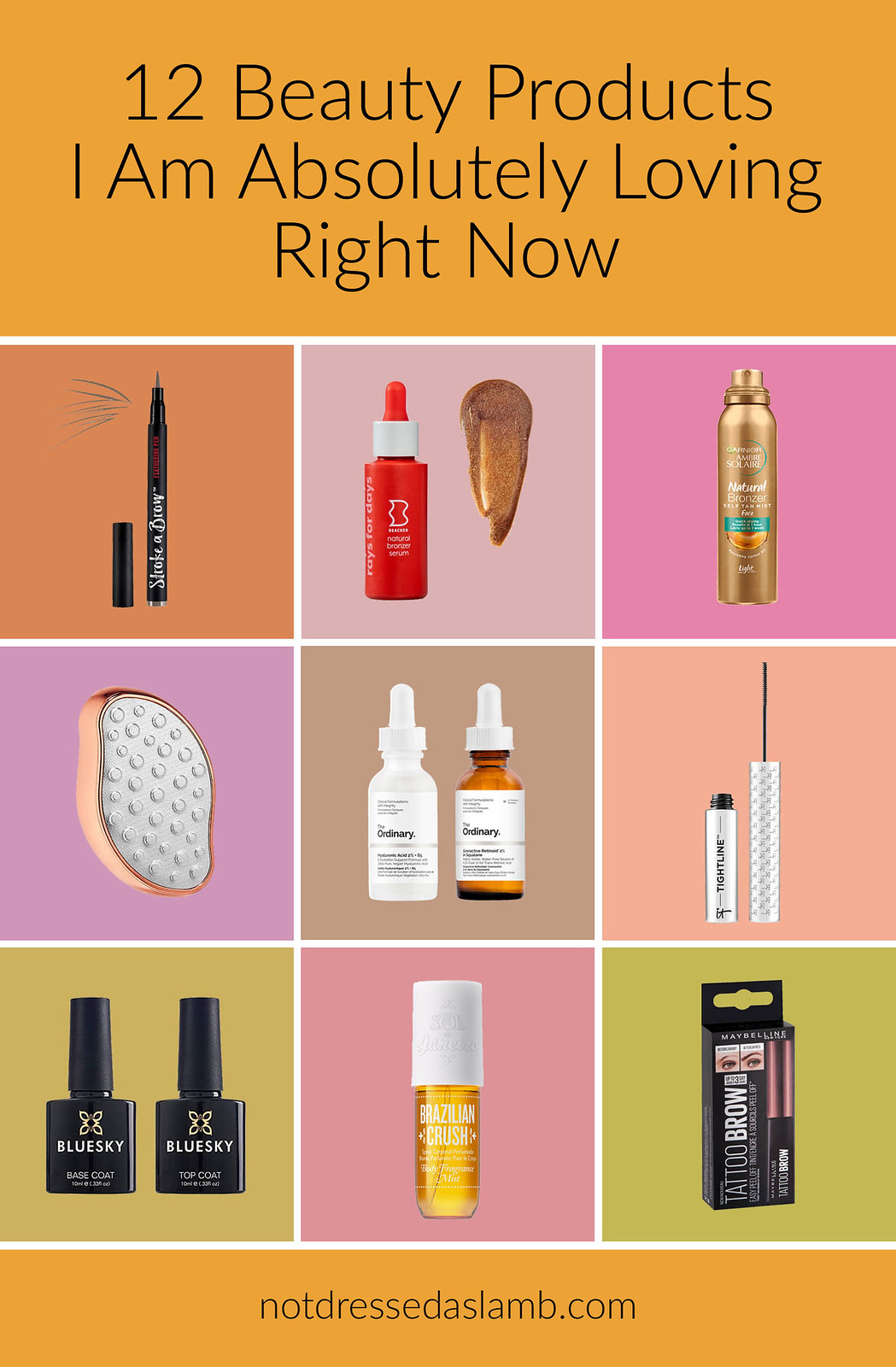 12 Beauty Products I Am Absolutely Loving Right Now   Not Dressed As Lamb