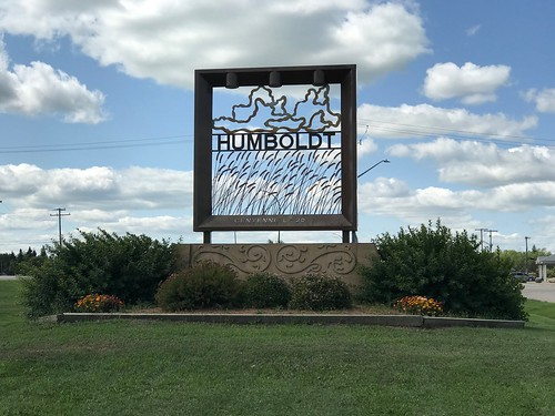 Humboldt - city sign