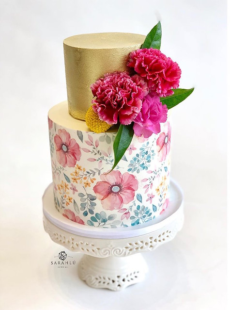 Cake by Sarahlú Confections