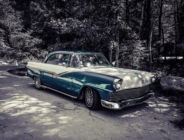 """'56 Ford Town Victoria """"Lead Sled"""""""