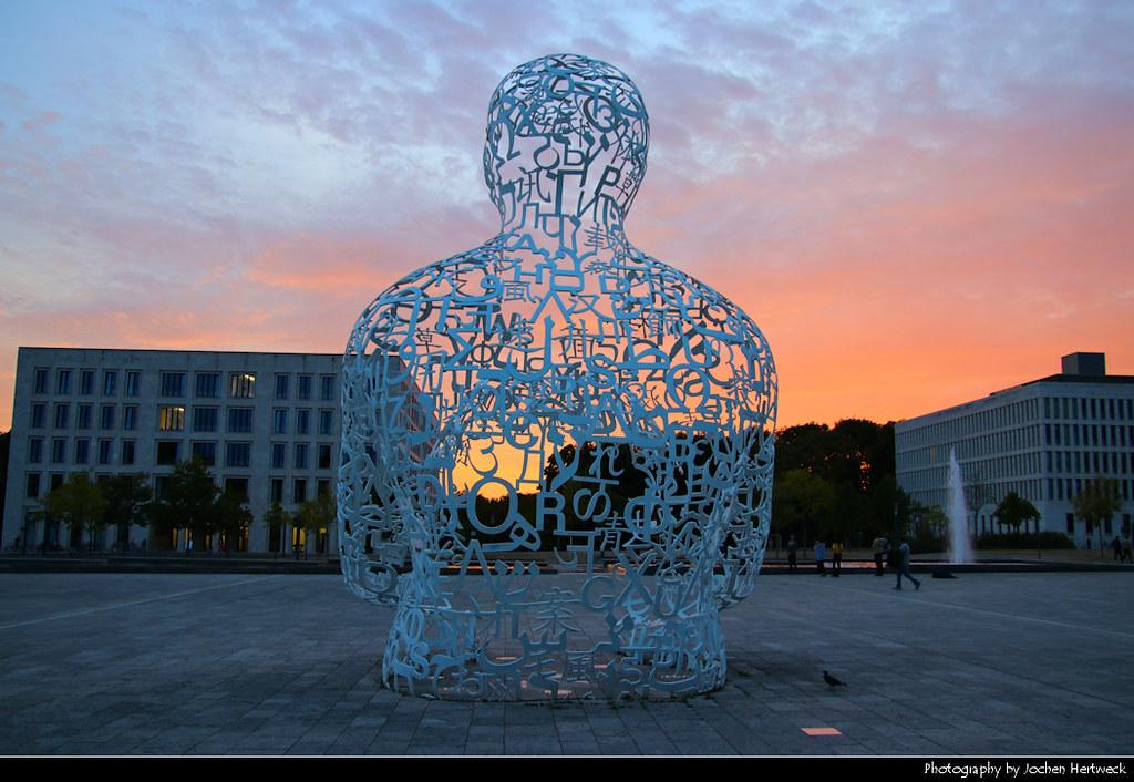 Body of Knowledge Statue, Frankfurt, Germany