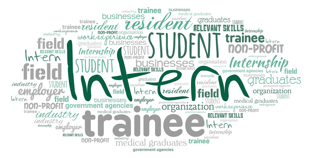 "Intern | A word cloud featuring ""Intern"". This is licensed u… 