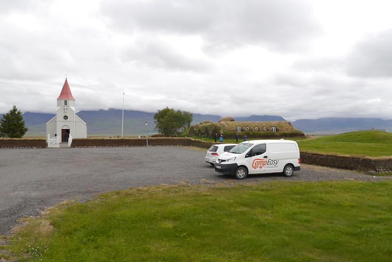 Antiguas casas de Islandia