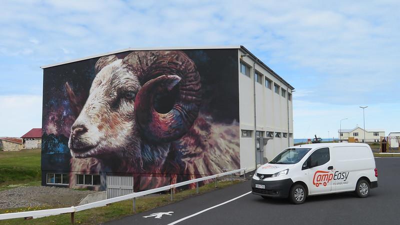 Graffitis en Islandia