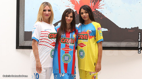 Catania, ecco le nuove maglie per la stagione 2019/20