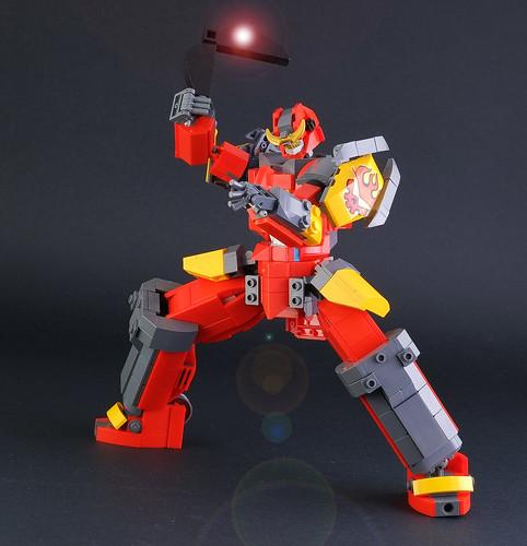 "Lego FA-11 ""Gurren Lagann"""
