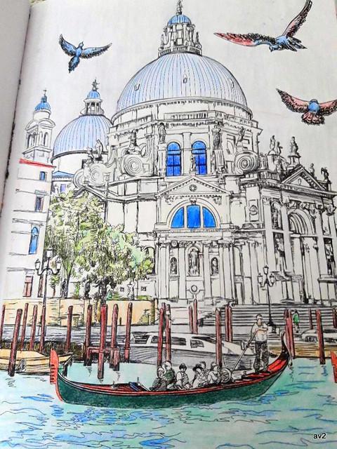 Iglesia de Santa María de la Salud. Venecia.