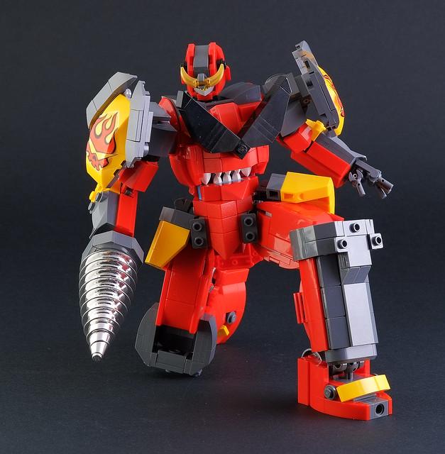 LEGO Mecha Figure