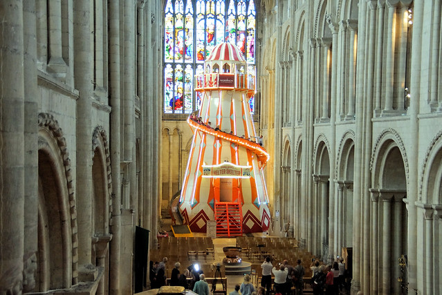 Seeing It Differently Helter Skelter Norwich Cathedral Aug19