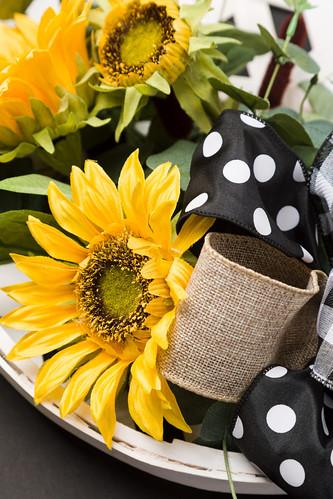 sunflower wreath 1