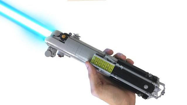 Anakin/Luke/Rey Lightsaber Lifesize Replica MOC