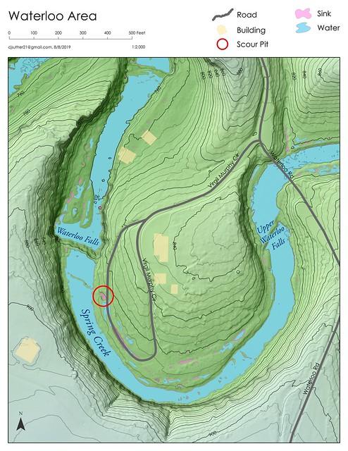Waterloo Area Map