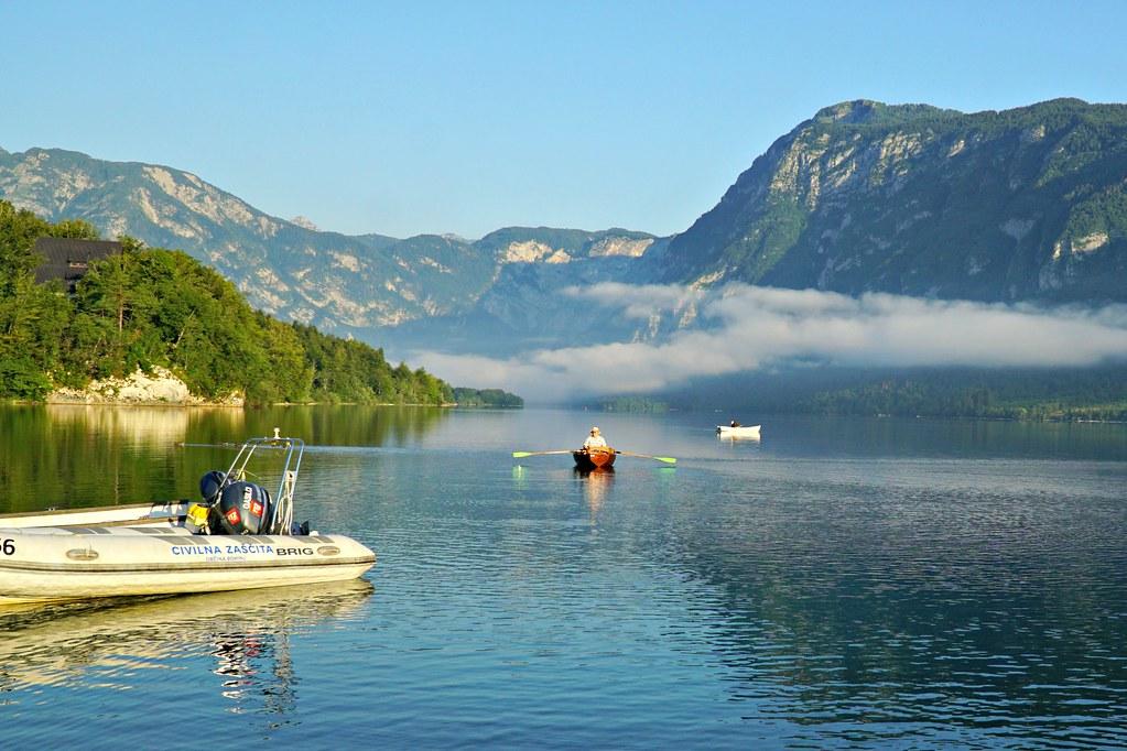 Kalastusta Bohinj-järvellä