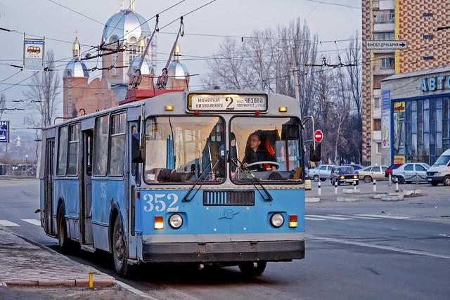 ZiU-682 trolleybus