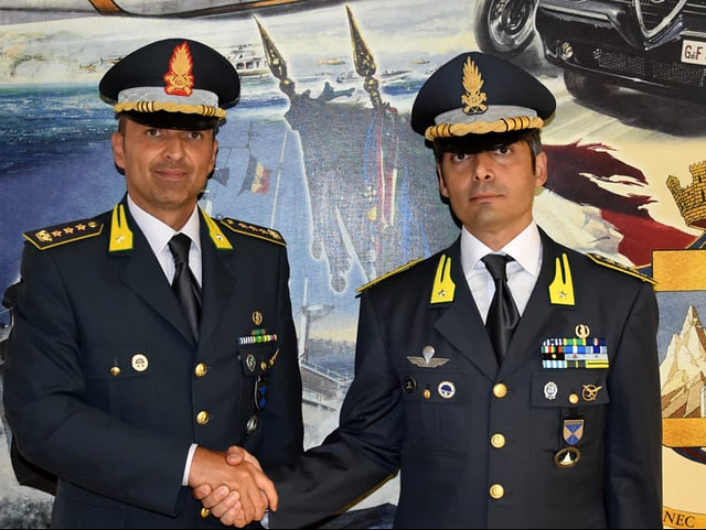 cambio comandante I Gruppo gdf Bari