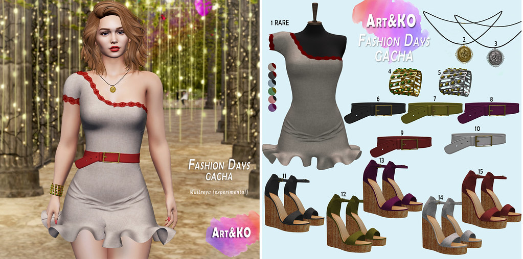 Art&KO – Fashion Days GACHA