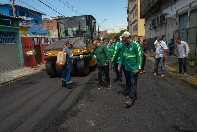 09.08.19 prefeito Arthur vistoria obras do Requalifica no São José