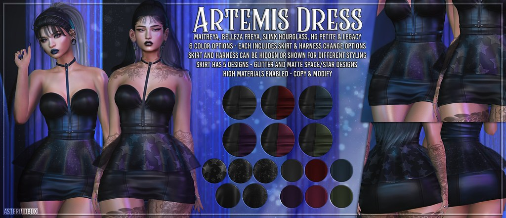 AsteroidBox. Artemis Dress @ C88