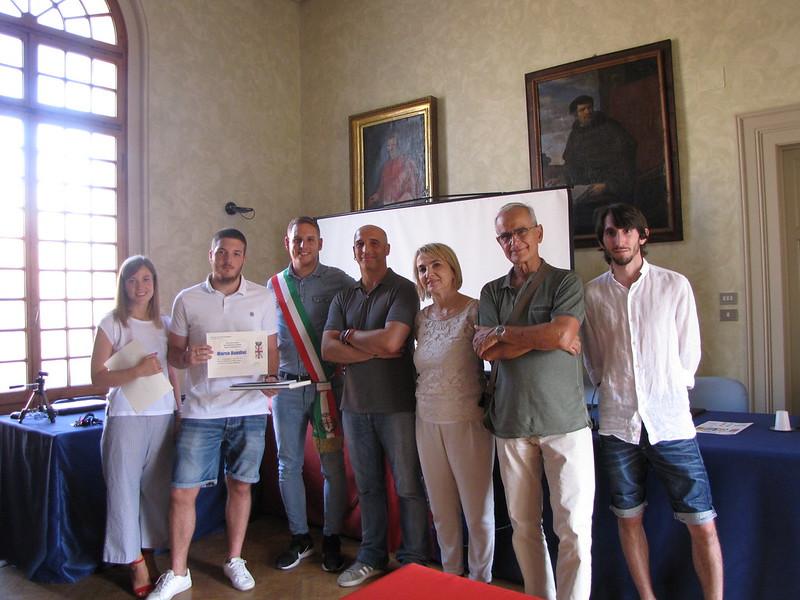 L'Amministrazione comunale di Castel Bolognese ha festeggiato i super maturi