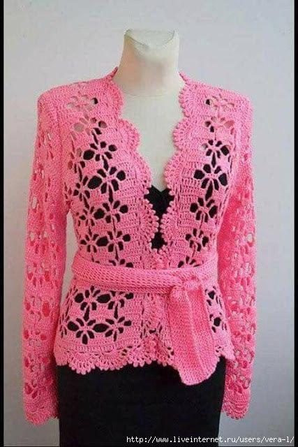 pattern blouse crochet 1