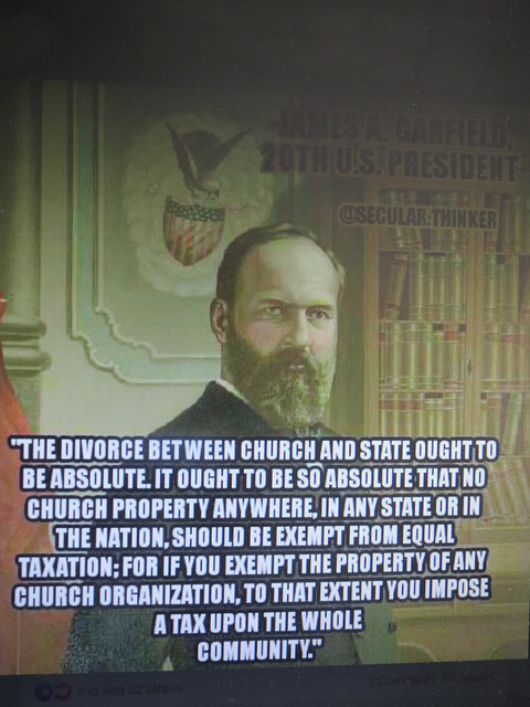 Church & state quote