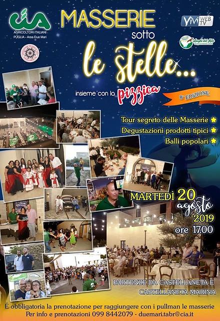 Masserie Sotto le stelle 2019_manifesto
