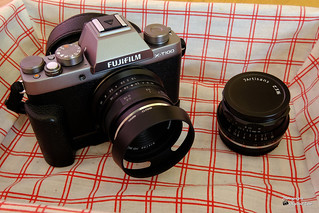 Fujifilm X-T100, 7artisans 25mm F1.8 / 7artisans 35mm f1.2