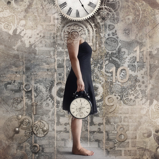 the girl who was losing time