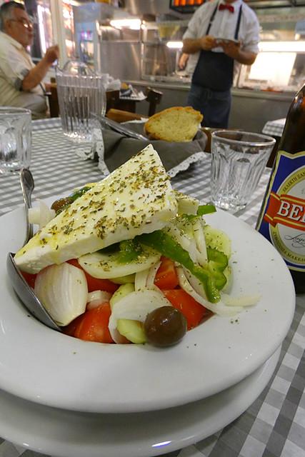 salade grecque taverne d'Épire