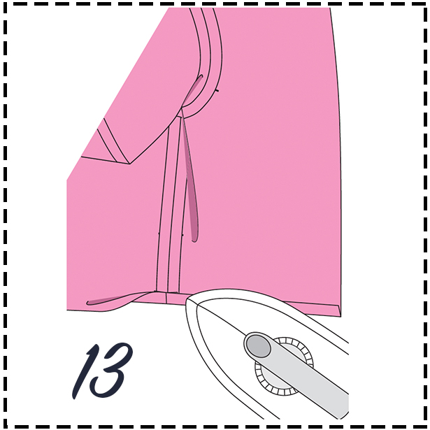 Sewing Lesson Jacket STEP 13