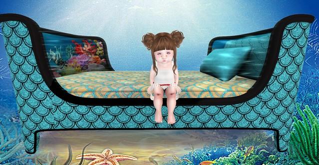 Elliot Mermaid Bed & Arrow SwimShort_0013