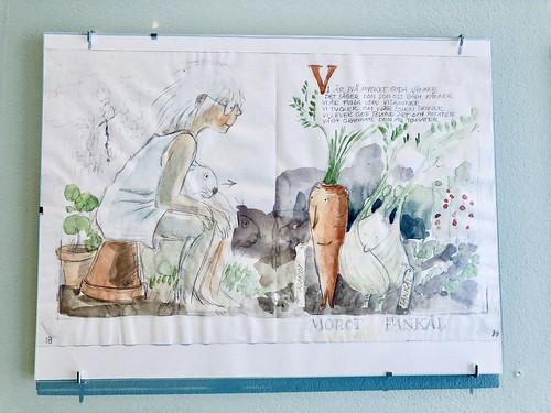 lena andersson exhibition at millesgården, stockholm, sweden, july 2019