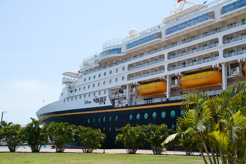 Disney Wonder in Puerto Vallarta