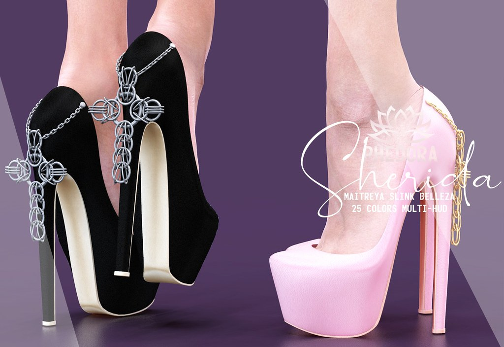 "Phedora. for Anthem Event – ""Sherida"" heels ♥"