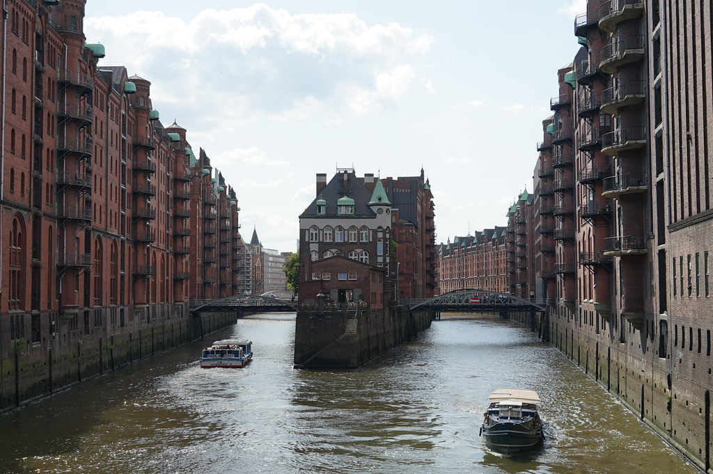 Hamburg, Germany, July 2019