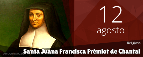 Santa Juana Francisca Frémiot de Chantal