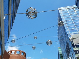 8-8-2019: Shiny bubbles in the sky. Boston, MA