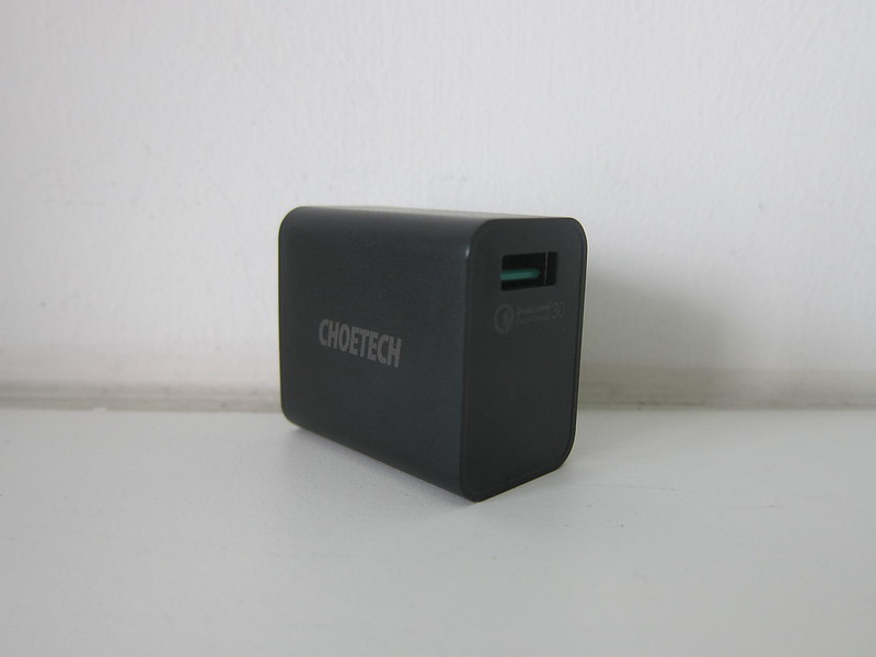 Choetech 15W Wireless Charger Stand - USB Wall Charger
