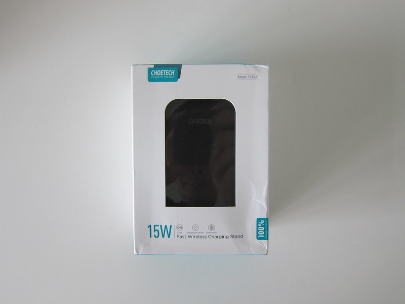 Choetech 15W Wireless Charger Stand - Box Front