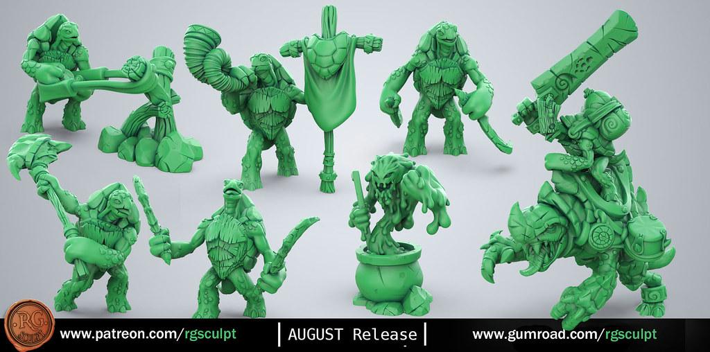 RG sculpt is creating Digital Sculpts to print | Patreon