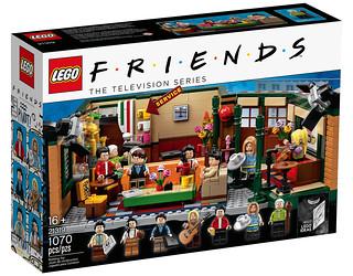 超經典喜劇《六人行》標誌性場景~樂高化! LEGO 21319 Ideas 系列《六人行》中央公園咖啡館 Central Perk