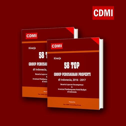 Kinerja 58 Top Group Perusahaan Properti di Indonesia, 2016
